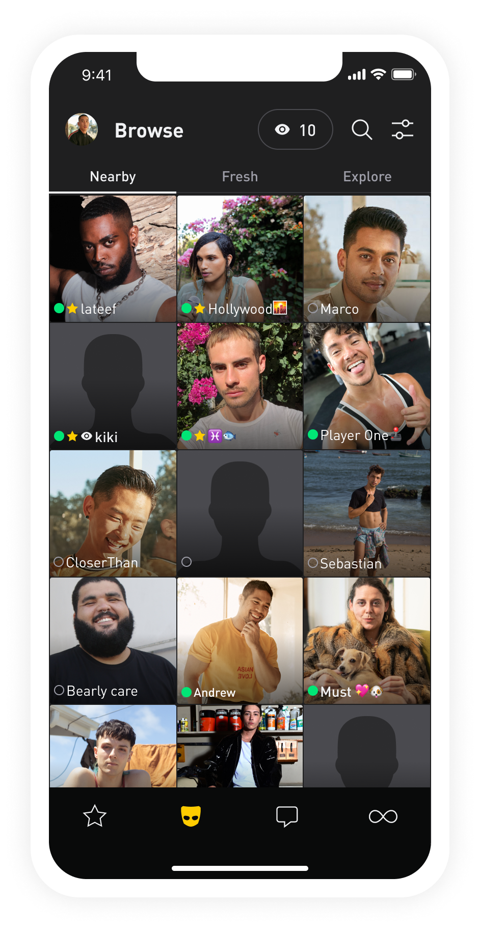 Online gay dating apps